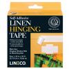 Самоклеющаяся белая льняная лента (Linen Hinging Tape)
